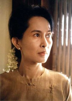 Aung San Suu Kyi (born 19 June 1945) - Burmese opposition politician. She won the 1990 general election  but were detained under house arrest before the elections by the Burmese regime. She remained under house arrest in Burma for almost 15 of the 21 years from 20 July 1989 until her most recent release on 13 November 2010. Recieved the Nobel Peace Prize in 1991.