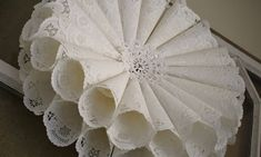 The other day I wrote about finding a bunch of paper doilies at the thrift store. I have some plans for a lot of them but I have so many I wanted to come up with some more projects for them. While …