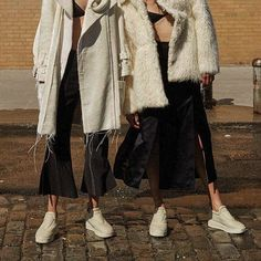 @georgiahilmer & @emma_oak shot by @surrealjamesnelson fashion editor @ilona_hamer hair @jennykim__ mu @laurastiassni for @russhmagazine October/November 2015