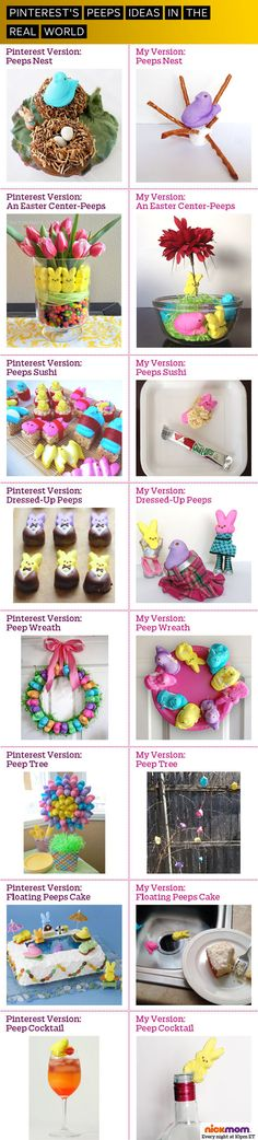 Pinterest's Peeps Ideas in the Real World | More LOLs & Funny Stuff for Moms | NickMom