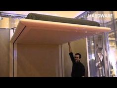 Elevator bed. With just the touch of a finger, bed moves up and down. Espace Loggia Champ Libre - YouTube
