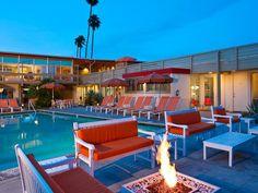 palm springs retro hotel bars - Google Search