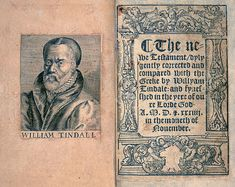Frontispiece and title page of the New Testament of Tyndale's translation, 1534
