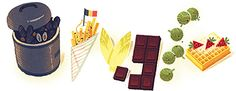 The very reasons why I loved Brussels are in this google doodle..only thing missing is beer!