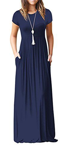 Viishow Women's Empire Elastic Waist Long Dresses Casual ... https://www.amazon.com/dp/B078RKSM8J/ref=cm_sw_r_pi_dp_U_x_kvbZAbDVZ0V2J