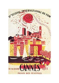 Il vecchio cinema nei poster di Cannes 1951 – Il Post
