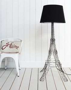 I have the desk lamp, so it would be rude not to have the floor lamp too! (Eiffel Tower Floor Lamp, Graham and Green)