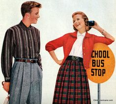 Dear Daughter, Curb your aggressive nature. It belongs to men only. ~  How to chase men: Tips for teens (1957)
