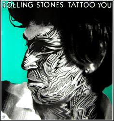 Rolling Stones - Tattoo You (Keith Richards) by Corriston, Peter | Shop original vintage #posters online: www.internationalposter.com #rollingstones
