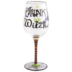 Drink Up Witches Goblet
