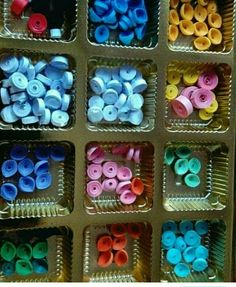 Quilled paper arrangements Paper Quilling, Arts And Crafts, My Favorite Things, Inspiration, Biblical Inspiration, Art And Craft, Quilling, Inhalation, Crafting