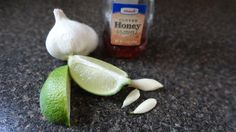 control your cold with a mix of garlic, lime and honey. source: http://www.instructables.com/id/Cold-killer/