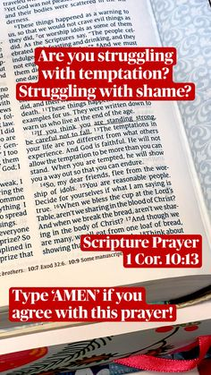 Prayer Scriptures, Bible Verses Quotes, Faith Quotes, Bible Study Notebook, Bible Study Tips, Catholic Sacraments, Bible Journaling For Beginners, Christian Verses, Scripture Reading