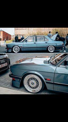 BMW E28 stance