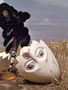 And all the kings horses and all the kings men...could not put Humpty   Dumpty together again...frightful stuff!