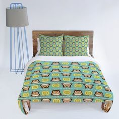 DENY Designs Heather Dutton Owl Town Teal Duvet Cover, Queen by DENY Designs, http://www.amazon.com/dp/B008AKYROW/ref=cm_sw_r_pi_dp_kue-rb1CZ20DK