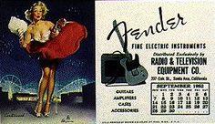 Another Cool Vintage Fender Poster Fender Electric Guitar, Fender Stratocaster, Fender Guitars, Fender Vintage, Vintage Guitars, Vintage Ads, Guitar Chords, Guitar Amp, Welding Shop