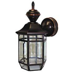 "Motion Sensor 13 3/8"" High Antique Copper Outdoor Light | LampsPlus.com"