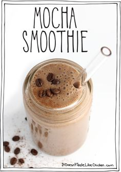 10 Vegan Dessert Smoothies (that are secretly healthy)! Click to check out all the dessert inspired flavours.