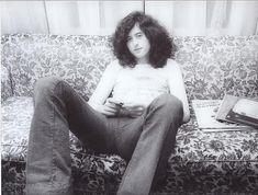 Jimmy Page. Photo taken Jan 20th, 1975