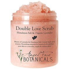 Double Love Body Scrub with Himalayan Salt & Organic Lavender Essential Oils  http://rstyle.me/n/dszmanyg6