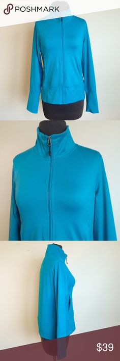 ❗️Champion Track/ Athletic Jacket Teal/ Blue ❗️Champion Track/ Athletic Jacket. Teal/ blue in great condition. Size medium. Make an offer! Selling to first offer--I consider all reasonable offers on individual items & give great bundle deals. New Year cleanout sale ;-) Champion Jackets & Coats