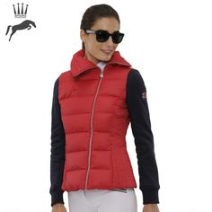 Spooks Calista Jacket - Red/Navy - NOW £69.99