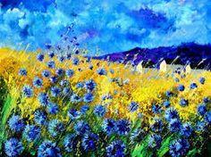 Afbeeldingsresultaat voor cornflower drawing