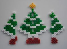 The wings of the 3d tree | Hama Bead Patterns