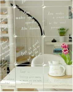This website has the best ideas for creating funky and different mirrors .