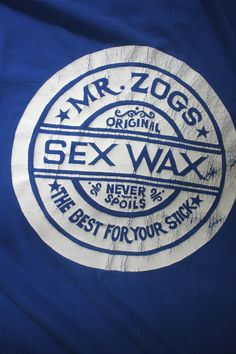 Vintage Sex Wax T Shirt. 80s or 90s Retro Mr. by ElevatedWeirdo