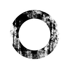 Download Free Circle In Circle Black Ink Grunge Stamps Textures Icon ~... ❤ liked on Polyvore featuring circles, frames, backgrounds, fillers, effects, borders, round, circular and picture frame