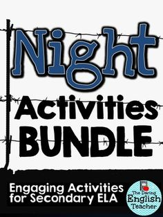 Printables Night Elie Wiesel Worksheets night by elie wiesel worksheets and memoirs on pinterest this activities bundle includes 6 resources to use when teaching wiesels begin your u