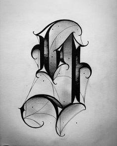 "Letter ""S"" Scriptinator… – Graffiti World Tattoo Lettering Alphabet, Tattoo Lettering Styles, Chicano Lettering, Graffiti Lettering Fonts, Tattoo Script, Tattoo Design Drawings, Lettering Design, Script Lettering, Gotisches Alphabet"