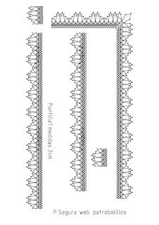 Patrobolillos : PICADOS PUNTILLAS Bobbin Lace Patterns, Lacemaking, Lace Heart, Point Lace, Crochet Borders, Lace Jewelry, Needle Lace, Lace Detail, Crochet Projects