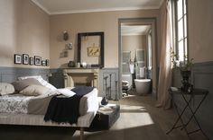 Une chambre avec un cachet particulier...