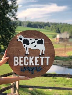 Find a Name for your Baby! - Beckett Baby Name - Ideas of Beckett Baby Name - Custom Name Farm Nursery, Nursery Signs, Nursery Name, Nursery Room Decor, Boys Room Decor, Nursery Wall Art, Kids Room, T Baby Names, Cow Names