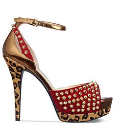 Shoe Trend: Rock out!  GUESS #shoes #pumps #studs BUY NOW!