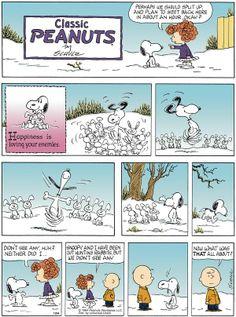 Peanuts by Charles Schultz.