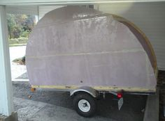 How to build your own ultra-lightweight Micro Camper Teardrop Trailer