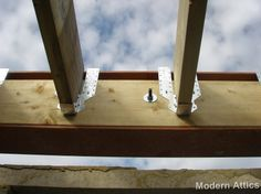 Hip To Gable Loft Conversion Mid Construction Flat Roof