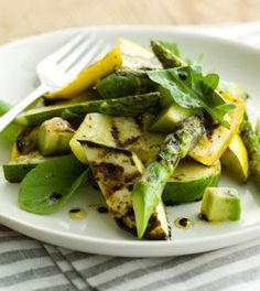 Zucchini and squash make this salad from Curtis Stone a prime source of manganese, dietary fiber and Vitamins A and C. Eat it before an afternoon workout for an extra boost of energy and strength.