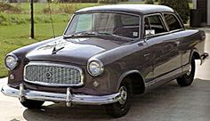 1958 Rambler American:  A 144, 170, or 200 Ford will bolt right up to the trans with an early Falcon bellhousing.