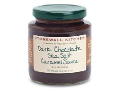 The obvious use of this Dark Chocolate Sea Salt Caramel Sauce is with ice cream, but please don't stop there. It's also quite good on crisp apples and other fresh fruit.