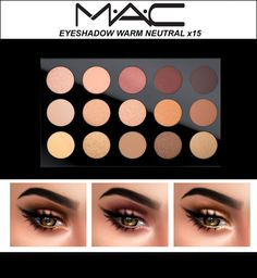 MAC COSMETICS Warm Neutral Eyeshadow - Kenzar-sims