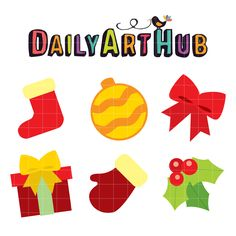 FREE It's Christmas Clip Art Set