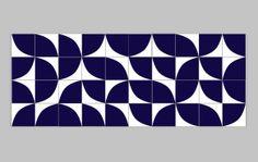 www.lurca.com.br/ // Lurca Azulejos - Coleção Modelo Quadrante Azul Royal // Lurca Tiles - Collection Quadrante Royal Blue Model #azulejos #azulejosdecorados #revestimentos #arquitetura #interiores #decor #design #sala #reforma #decoracao #geometria #casa #ceramica #architecture #decoration #decorate #style #home #homedecor #tiles #ceramictiles #homemade