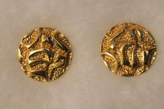 Vintage Avon Textured Earrings Gold Tone by dfeazell on Etsy https://www.etsy.com/listing/195155523/vintage-avon-textured-earrings-gold-tone