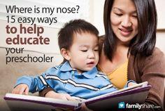 FamilyShare.com   15 easy ways to help educate your preschooler