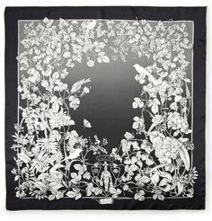 GucciFloral-Print Silk Scarf